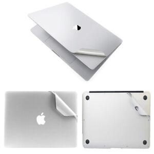 "Silver Laptop Full Guard Case Skin Cover Sticker For Macbook Pro 13"" M1 2020"