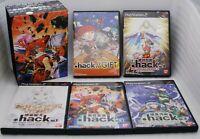 PS2 .hack 1 2 3 4 & GIFT 5pcs w/ Limited Box Japan Import Bandai PlayStation 2