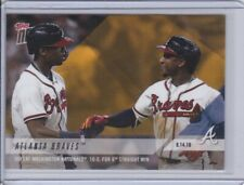 2018 Topps NOW PWB-64 Ronald Acuna Albies Atlanta Braves [9.14.18] ~ PR 805