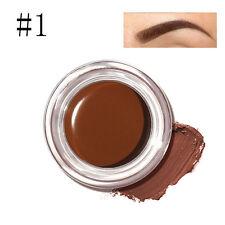 FOCALLURE Eye Brow Tint Makeup Waterproof High Brow 5 Color Pigment Black~