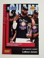 2019-20 Panini Instant LeBron James #270 L.A Lakers MVP NBA Champions /3938  🔥