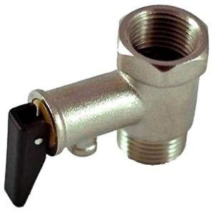 """Membran Sicherheitsventil Überdruckventil Boiler Ventile 1/2"""" und 3/4"""""""