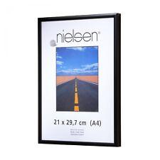 Nielsen Pearl 40x40 cm noir mat Cadre Photo