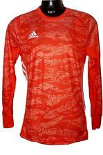 NEW! Adidas AdiPro 19 Goal Keeper Shirt - Men's size MEDIUM, LS Solar Orange