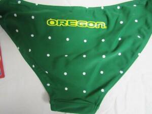Oregon Ducks Women's Size Small Polka Dot Bikini Bottom C1 54