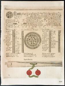 1926 - Litografía Acto Del Parlamento (1542) - British Empire Of Parliament