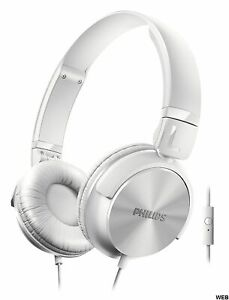 Kopfhörer Dj-Style Mit Mikrofon Philips - Farbe Weiß