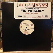 "[RAP]~NM 12""~EBONY EYEZ~(Can I Put My Ass A$$) In Ya Face~[x4 Mixes][CAPITOL]"