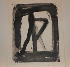 "Lithographie Originale de Bram Van VELDE,  ""  MP 306  """
