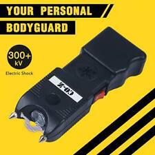 Self Defense Stun Gun Taser Electric Zapper LED Light 120dB Alarm Rechargeable