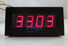 Digital Motor Tachometer Speed Measure Meter panel 5-9999 RPM Red LED Display
