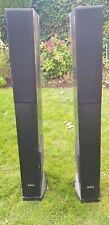 1 Paar AEG 3-Wege Bassreflex Lautsprecherboxen 480W, LB 4710, 8 Ohm