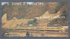 D. Eisenbahn - Lokomotiven   Sao Tome E Principe  Block 179  **  (mnh)