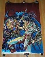 Marvel Conan The Barbarian comic book poster 1:Barry Smith art/1990s Marvelmania