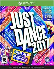 Just Dance 2017 [Xbox One, XB1, Music Dancing Video Game] NEW