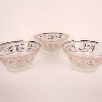 Vintage Midcentury Snack Bowls Set of 3 Glass Bowls