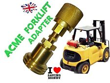 FILL FORKLIFT GAS LPG  BOTTLES  REGO ADAPTER PROPANE ACME EUROPE NEWWWWW
