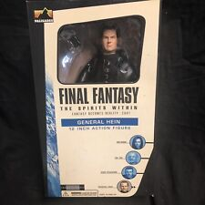 """Final Fantasy The Spirits Within General Hein 12"""" Action Figure Palisades 2001"""