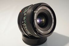 CANON FD 28mm f 2.8 LENS. EXCELLENT CONDITION, FREE SONY E MOUNT ADAPTER