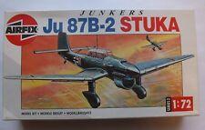 Airfix Junkers Ju 87B-2 Stuka WWII Dive Bomber Aircraft Model Kit, Scale 1:72