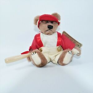 Boyds Bears and Friends YOGI Archive Collection Bear Tags Bat 7 inch Baseball