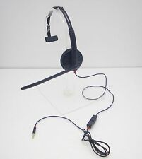 Plantronics Blackwire C215 3.5mm Mono Headset 205203-02 for Tablets Smartphones