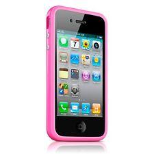 Coque Housse Bumper HQ Spécial Pour iPhone 4S / 4 Rose + film av / ar