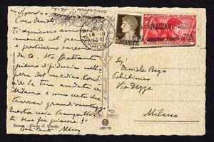 8656) Königreich 1933 CP ROM Für Milano - C.20 Marsch Auf ROM