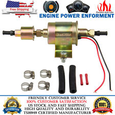 Universal 12V External Electric Fuel Pump Installation Kit 5-9 PSI 30GPH GA8012S