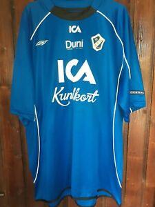 Rare Umbro home shirt Halmstad  BK 1914 -Sweden -Suedia- XL- VGC