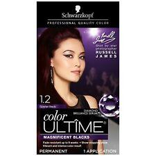 Schwarzkopf Ultime 1.2 Scarlet Black Hair Color Cream