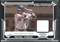 RAFAEL FURCAL 2008 TOPPS HIGHLIGHTS #HRRF GAME JERSEY LOS ANGELES DODGERS SP