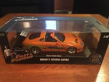 1:18 Fast and the Furious Toyota Supra orange NIB