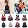Women Waterproof Oxford Cloth Travel Backpack Anti-theft Shoulder Bag Handbags