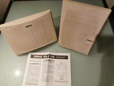 Yamaha NS-E105 Natural Sound Bass-Reflex - Effect Speaker System Wand od. Regal