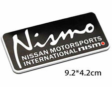 3D AUTO Car Badge Sticker Decal Metal Nismo For Nissan Emblem