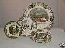 Friendly Village Johnson Bros 5 piece Place Setting