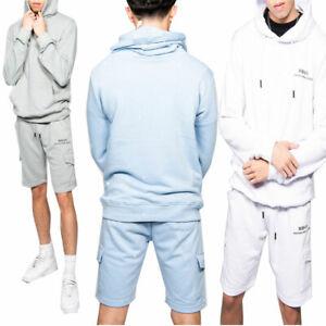JYO Mens Printed Hoodie And Shorts Tracksuit set (ts2480)