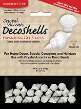 Crystal Accents Water Absorbing Shells Expanding Gel Shapes Vase Filler Decor