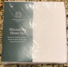 Jcpenney Home Expressions White Twin Sheet Set Brand New in Packaging with Tags