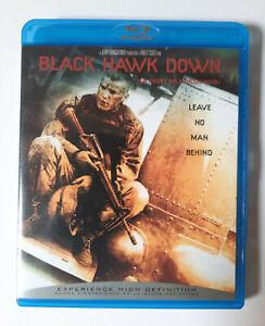 Black Hawk Down 2001 Blu Ray - Ridley Scott Josh Hartnett