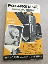 Rare Polaroid Land Camera Guide Book by Kenneth Tydings - 1961