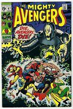 Avengers # 67 Bronze Age Marvel 1969 Utron-6