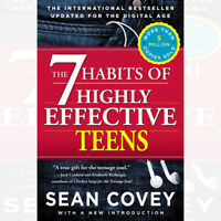 Sean Covey's The 7 Habits of Highly Effective Teens Paperback BRAND NEW