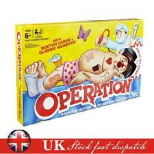 UK Operation Classic Children's Family Party Game Kids Xmas Gifts -