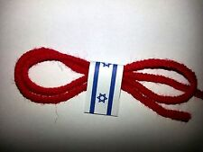 Kabbalah Red String woolen thread from Jerusalem is a guard against evil eye 1pc