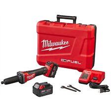 "Milwaukee 2784-22 M18 FUEL 1/4"" Brushless Die Grinder Kit w/2) 5.0 Batteries"