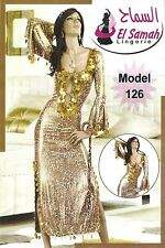 Egyptian Belly Dance Costume Leopard Saidi Dress,Baladi Galabeya, Fallahi Abaya