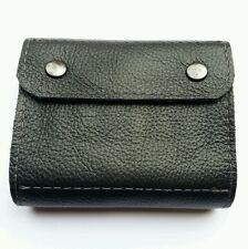 .22 hornet/ 17HMR/ 17 Hornet  Bullet wallet. Black  real leather with studs