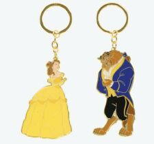 TDR Japan Tokyo Disney Resort 2019 Princess Pair Key Chain Bell and Beast